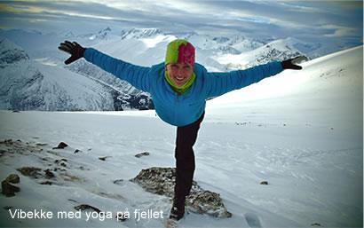 Yoga reise til fjells